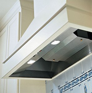 """Square Sides Wall Mount Liner Size: 36"""", CFM: 600/900E, Duct: 8"""" Round"""