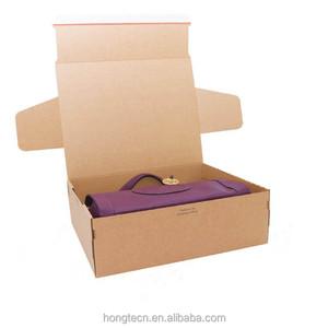 Hot sale handmade foldable corrugated carton box specification mail box
