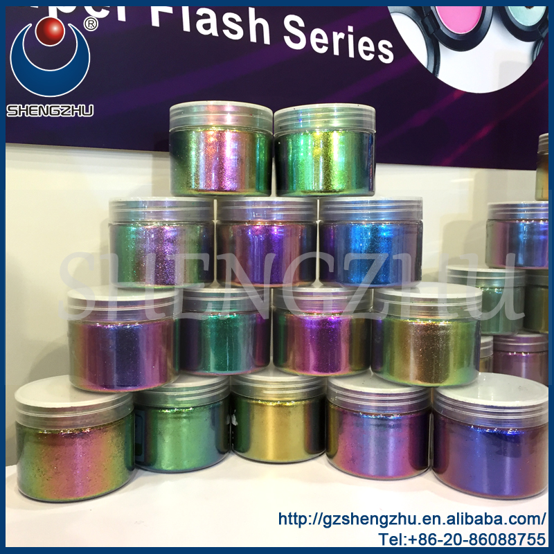 Cosmetic Grade Color Changing Chameleon Pigment Powder For Eyeshadow ...