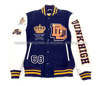 Chenille patch varsity letterman jacket / Chenille patch varsity jacket / Varsity jacket chenille patch embroidered logos