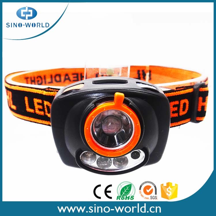 Headlight LED ABS sensor rotating best replacement headlamps with zoom design