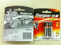 Energizer MAX AA AAA C D 9V Alkaline / Lithium Batteries