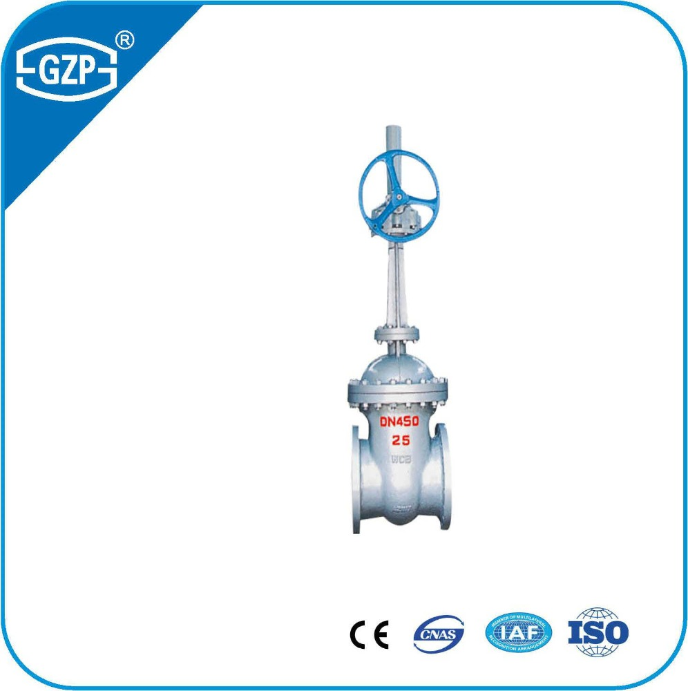 Chinese standard PN16 PN64 DN150 Body cast steel SS304 trim 304 stem seal gate valve