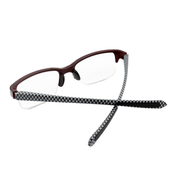 Shanghai Smart Red Color Reading Glasses Without Frames Half Frames ...