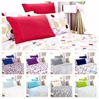 Egyptian Comfort 1800 Count 6 Piece Printed Bed Sheet Set Deep Pocket