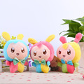 3Colors Cute Gift Plush Mini Colorful Rabbit Soft Toy Animal Dear Doll Baby Kid Child Girls