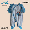 cotton baby short sleeve romper clothes0-3months