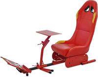 Blue Foldable Racing Game Seat Racing Simulator Cockpit Racing ...