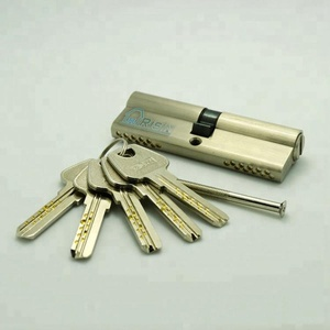 High Security Euro Profile Brass Cylinder Lock with Double Pin System