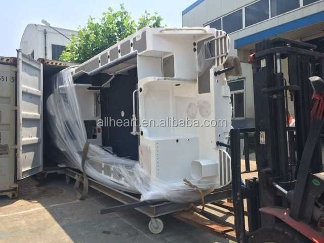 19ft All-welded Aluminum Hardtop Cabin Fishing Boat