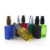 1oz 30ml colorful rectangular square cosmetic oil glass dropper bottle with pump spray or lotion cap