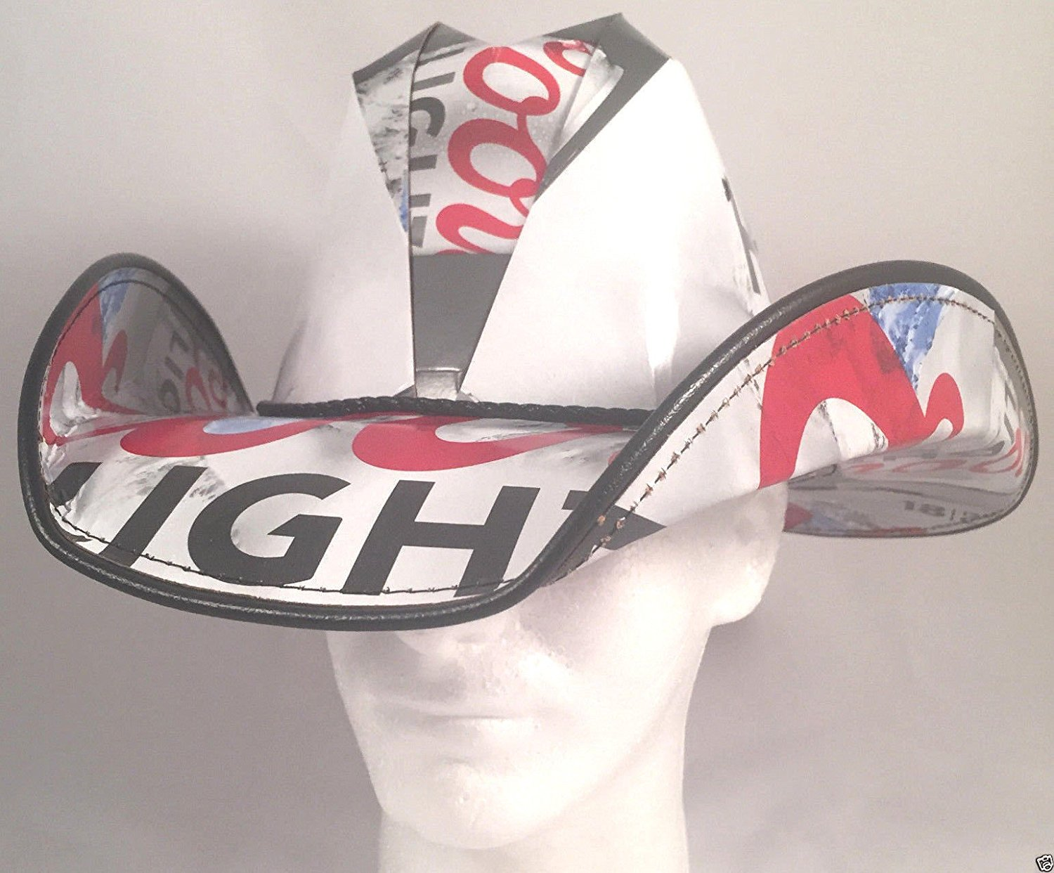 Buy Beer Box Cowboy Hat Made From Recycled Coors Light Beer Boxes in ... b36e5c38a99
