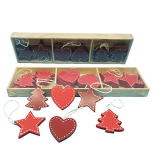 Handicraft Red Heart Wholesale Christmas Ornaments
