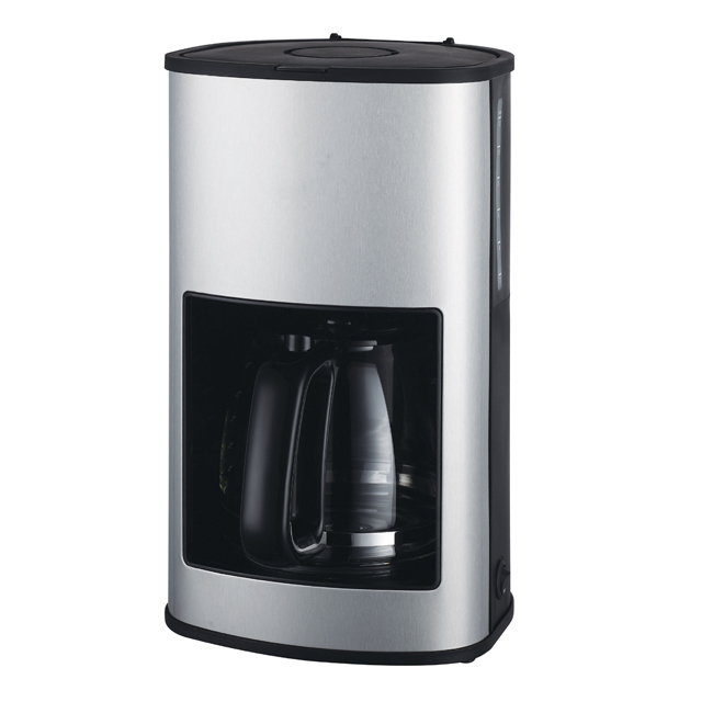 New Design Drip Coffee Maker Type Auto-boiling Stainless Steel Coffee Maker Fully Automatic Coffee Machine Wholesale