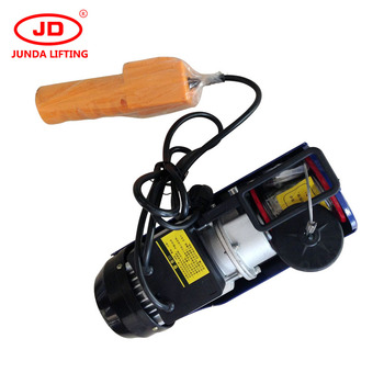 Small Size Electric Cable Winch Mini Electric Lift Motor Crane Tool Pa  Micro Electric Wire Rope Hoist With Remote Control - Buy Small Size  Electric
