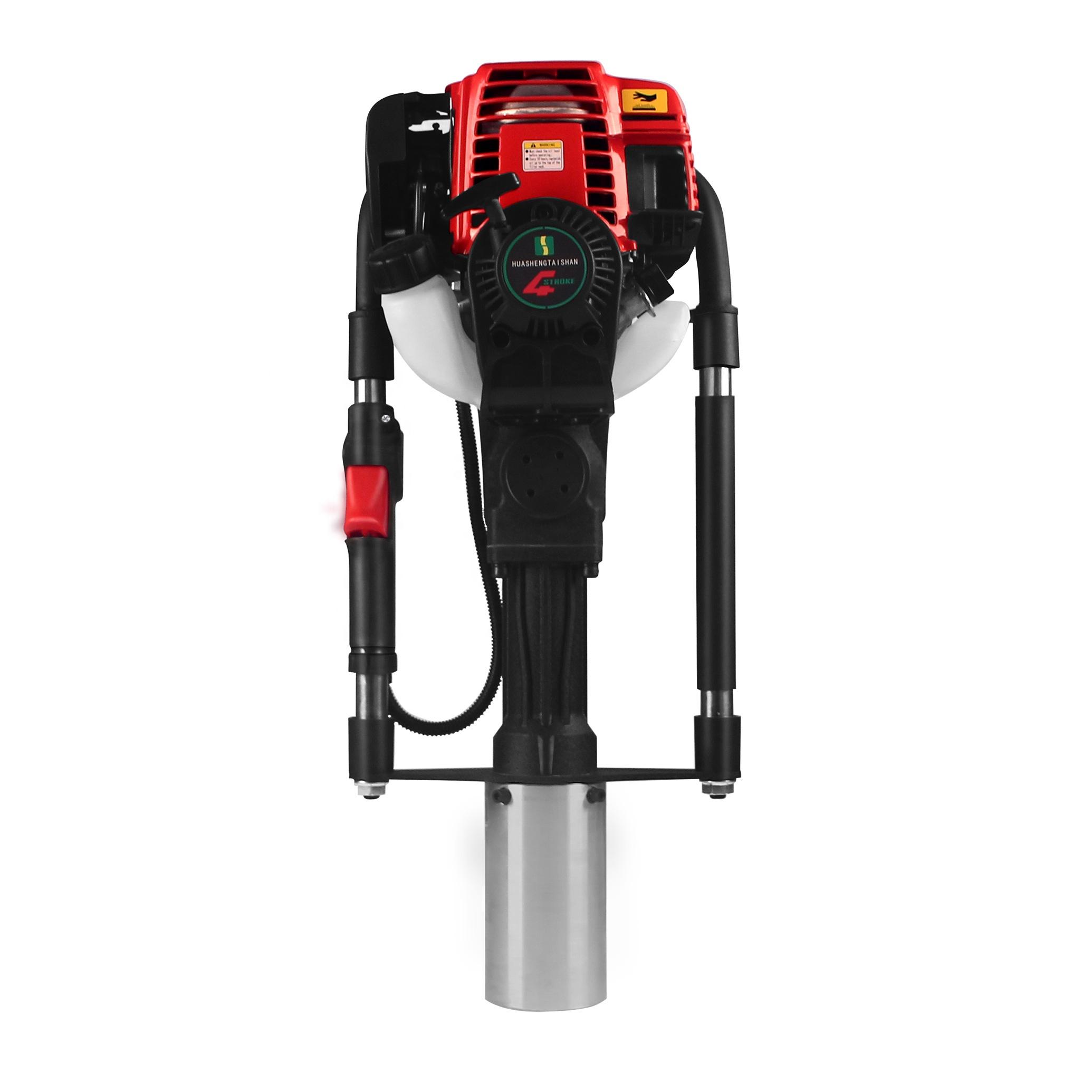 DPD-80 professional 4-stroke post driver vibrating post driver gasoline post driver with CE