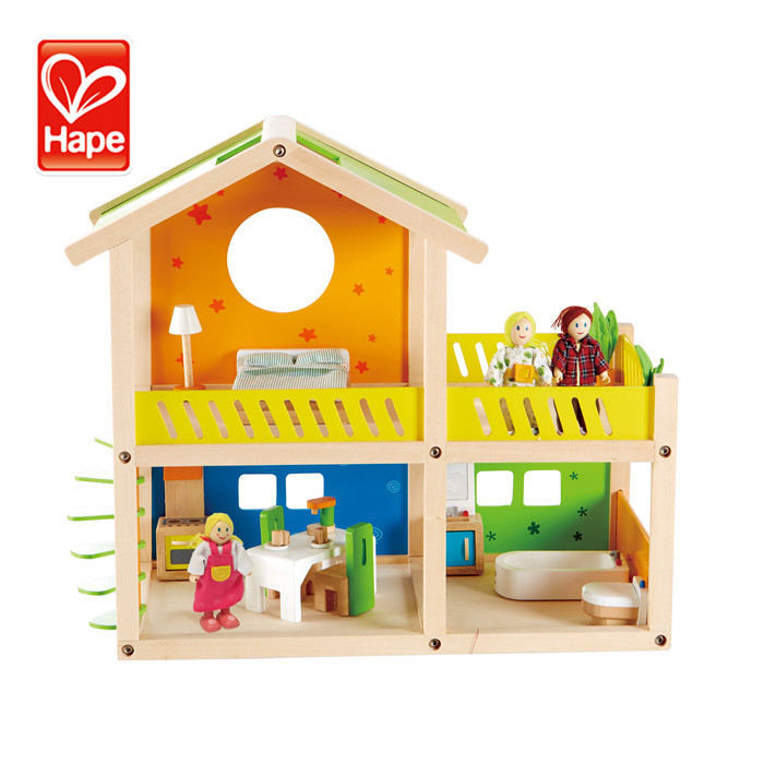 Factory supply good quality low MOQ miniature doll houses for sale