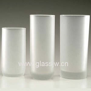 Custom Frosted Glass Tumbler