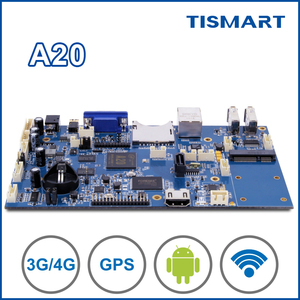 TIAMSRT Allwinner A20 dual core advertising arm board with WiFi for taxi bus digital tablet