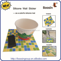 Hot Colorful silicone kitchen sink protector