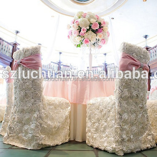 Fabulous White Rosette Dining Chiavari Chair Covers For Weddings Buy Chiavari Chair Covers For Weddings Product On Alibaba Com Machost Co Dining Chair Design Ideas Machostcouk