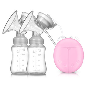 China supplier cheap bpa free double electric breast pump