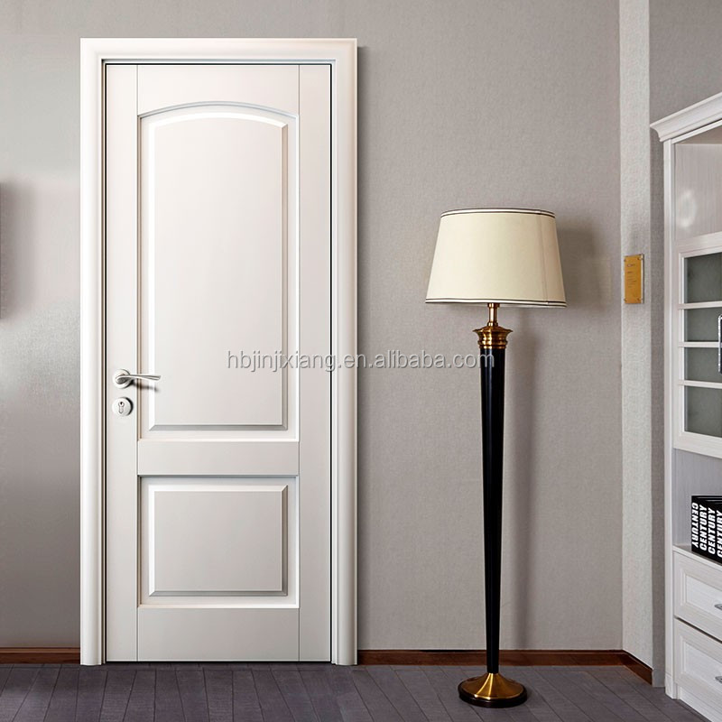 Room door natural veneered wooden flush door design mdf for Room door design for home
