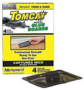 TOMCAT PREBAITED GLUE BOARDS MOUSE TRAP - 4 PACK