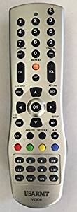 Smartby New Universal Remote for VIZIO LCD LED TV and Blue ray DVD for VR4 VUR10 VR2 VR15 VR10 XRU110 VUR8 VUR9 VUR5 VR17 XRU300 XRU100 XRT510 VUR12 XRT110 URC3440BG1 XRT112