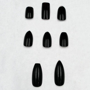 New Hot Ballet Black Artificial Finger Nails Tips