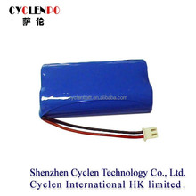 Economic and Reliable lithium iron phosphate battery pack 6.4v 1500mah high pressure cleaning equipment