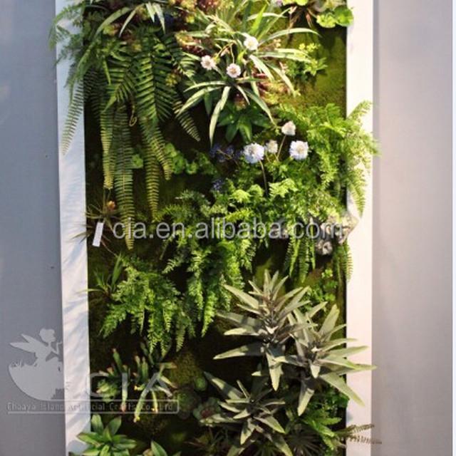 Fake Plants Faux Succulents Hanging Garden Wall Dedcor Art