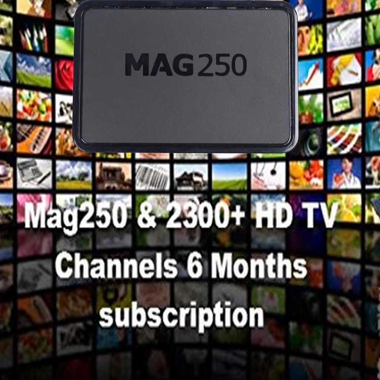 New design with M3U listHot iptv set top box mag 250 atn iptv box