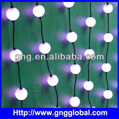 rgb 3d ball, Flex led ball, video led pixel strip 3D led ball dmx Madrix compatible for DJ BOOTH