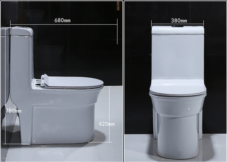 China supplier high grade design one piece toilet set decoration bowl toilet