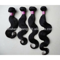 "Natural virgin 18"" Indian human hair Body wave hair products"