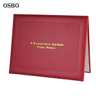 High School Certificate High School Paper Diploma Certificate Holder Cover