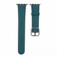 URVOI классический ремешок с пряжкой для Apple Watch series 5 4 3 2 1 ремешок для iwatch телячья кожа с квадратной пряжкой современный дизайн GEN.2(Китай)