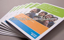 Custom printing brochure/pamphlet/manual with high quality