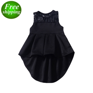 dbcc6c06ebd8f free ship 2019 summer girls latest princess sweet baby girl party dress  children frocks designs 1-4Y