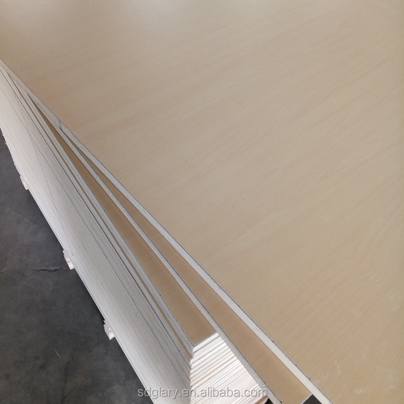 E0 glue America maple grain HPL plywood hpl 2 side plywood