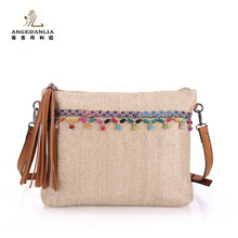 Factory Wholesale Price Fashion Woven PP Straw Women Beach Bag
