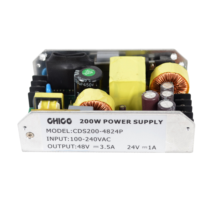 450W แรงดันไฟฟ้า DUAL OUTPUT Open Frame Power Supply