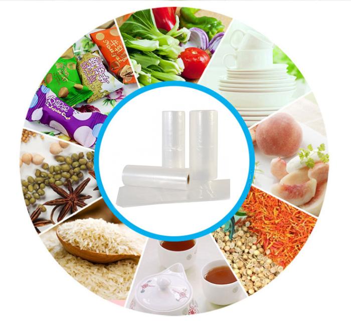 塑料 HDPE 生产 蔬菜 和 水果 卷