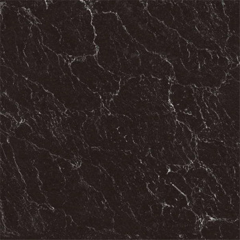 Black Onyx Porcelain Hotel Lobby Floor Tile 600mmx600mm