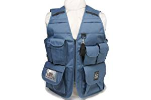 Portabrace VV-L 42-Inch-46-Inch Video Vest - Large (Blue)