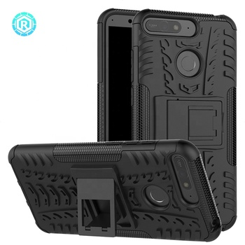 free shipping 19e43 e981a China Phone Case For Huawei Honor 7a Manufacturer Rugged Tpu Pc Hybrid  Combo Smart Cell Phone Case Cover For Huawei Y6 2018 - Buy Phone Case For  ...