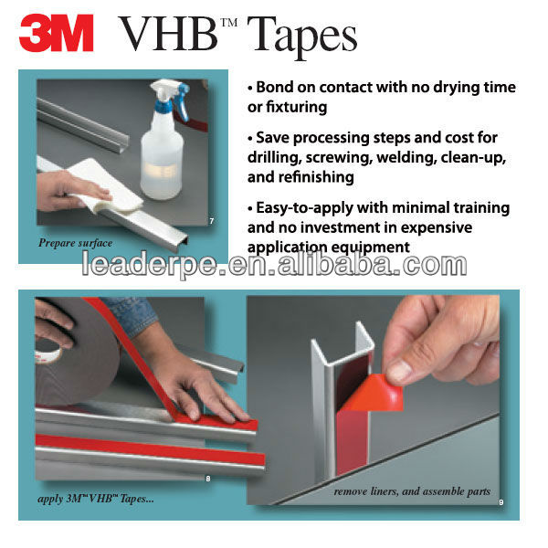 3M VHB Double Sided Tapes