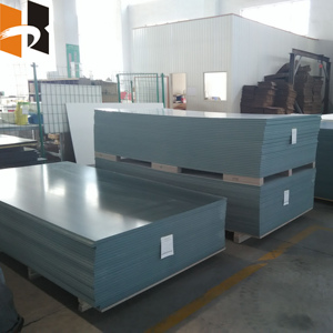 18mm waterproof plastic shuttering formwork and 4x8 pvc board for concrete