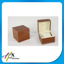 Small elegant wood watch packing box for man watch wholesale